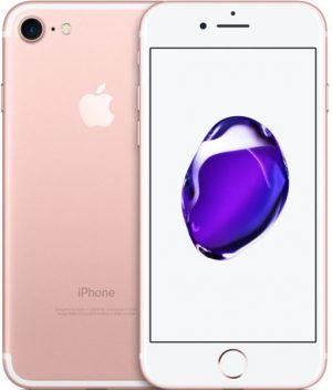 Apple iPhone rose gold